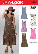New Look Ladies Easy Sewing Pattern 6889 Summer Dresses