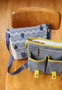 Noodlehead Accessories Sewing Pattern Campfire Messenger Bag