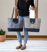 Noodlehead Sewing Pattern Explorer Tote