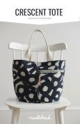 Noodlehead Sewing Pattern Crescent Tote