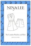 Nina Lee Sewing Pattern Camden Pinafore & Skirt