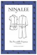 Nina Lee Sewing Pattern Piccadilly Pyjamas