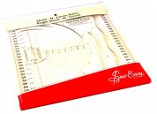 Sew Easy Slash n Circle Quilting Ruler