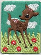 Craft Factory Iron or Sew On Fabric Motif Applique Bambi