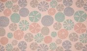 Organic French Terry Fabric  Rose Pink