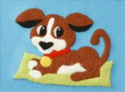 Orchidea Felt By Numbers Kit Puppy