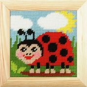 Orchidea Tapestry Embroidery Kit Ladybird