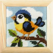 Orchidea Tapestry Embroidery Kit Birdie