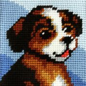 Orchidea Tapestry Embroidery Kit Puppy
