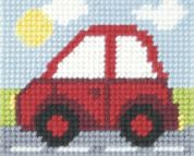 Orchidea Tapestry Embroidery Kit Little Red Car