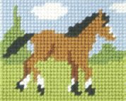 Orchidea Tapestry Embroidery Kit Foal