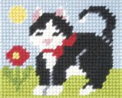 Orchidea Tapestry Embroidery Kit Kitten