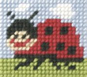 Orchidea Tapestry Embroidery Kit Ladybug