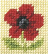 Orchidea Tapestry Embroidery Kit Poppy