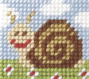 Orchidea Tapestry Embroidery Kit Sammy Snail