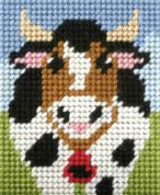 Orchidea Tapestry Embroidery Kit Alpine Cow
