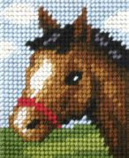 Orchidea Tapestry Embroidery Kit Friendly Foal
