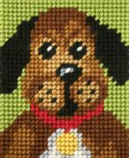 Orchidea Tapestry Embroidery Kit Pooch