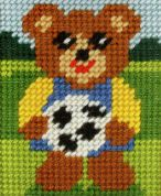 Orchidea Tapestry Embroidery Kit Boy Bear