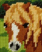 Orchidea Tapestry Embroidery Kit Pony