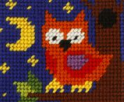 Orchidea Tapestry Embroidery Kit Owl