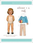 Oliver + S Childrens Easy Sewing Pattern After School Shirt & Pants