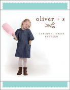 Oliver + S Girls Easy Sewing Pattern Carousel Dress