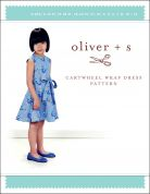 Oliver + S Sewing Pattern Cartwheel Wrap Dress