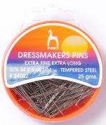 Pony Dressmakers Pins Tempered Steel