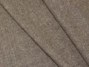 Portuguese Wool Blend Stretch Suiting Dress Fabric  Beige