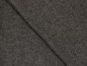 Portuguese Wool Blend Stretch Suiting Dress Fabric  Brown