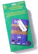 Pony Bamboo Circular Interchangeable Knitting Needles in Case