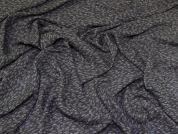 Lightweight Crepe Fabric  Grey