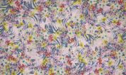 Printed Chiffon Fabric  Multicoloured