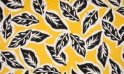 Rayon Crepe Fabric  Yellow