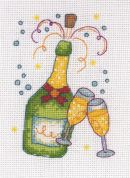 Anchor Cross Stitch Kit Champagne