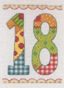 Anchor Cross Stitch Kit Birthday