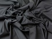Polyester, Viscose & Lycra Stretch Suiting Dress Fabric  Black