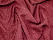 Herringbone Suiting Dress Fabric  Wine