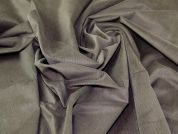 Cotton Corduroy Dress Fabric  Khaki Grey