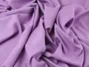 Linen Look Polyester Suiting Dress Fabric  Lavender