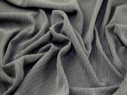 Herringbone Weave Suiting Dress Fabric  Grey