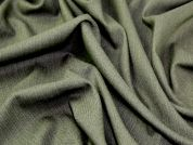 Pinstripe Suiting Dress Fabric  Sage Green
