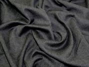 Pure New Wool Suiting Dress Fabric  Grey