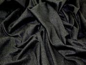 Flannel Suiting Dress Fabric  Charcoal Grey