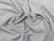 Small Check Wool Blend Suiting Dress Fabric  Grey