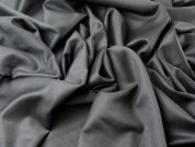 100% Wool Worsted Suiting Dress Fabric  Black