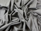 Pure Wool & Lycra Stretch Suiting Dress Fabric  Grey