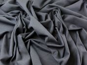 Wool, Polyester & Lycra Stretch Suiting Dress Fabric  Navy Blue