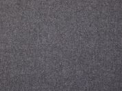 Italian Wool Blend Coating Dress Fabric  Grey